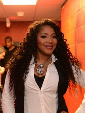 Trina Braxton Curly Hair Extensions Side Part Weave Hairstyles Hair Styles Curly Hair Styles Hair Extensions