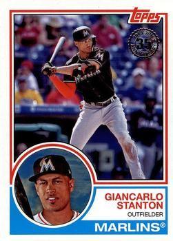 2018 Topps 1983 Topps Baseball 83 22 Giancarlo Stanton