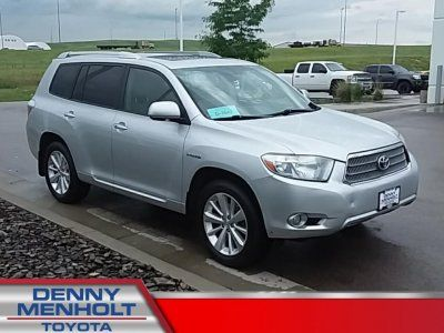 Used 2008 Toyota Highlander Hybrid Limited Hybrid Car Toyota Highlander Hybrid Cars For Sale