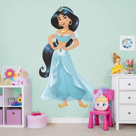 Jasmine: Princess Collection - Officially Licensed Disney Removable Wall Decals Large by Fathead   Vinyl