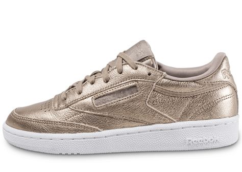 666a70b90f3f5 Reebok Club C 85 Melted Metals Tennis Femme