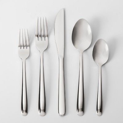 Stainless Steel 20pc Silverware Set Made By Design Silverware