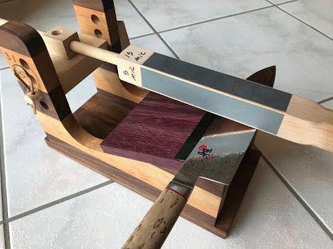 Incredible Woodworking Diy Guided Knife Sharpener 3 0 Znaryaddya Dlya Derevoobrobki Derevoobrobka Majsternya