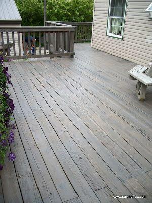 Pewter Behr Semi Transparent Deck Stain Staining Deck Wood Deck Stain Deck Stain Colors