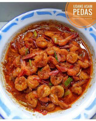 Resep Masakan Udang Pedas : resep, masakan, udang, pedas, Resep, Manis, Masakan, Indonesia:, Udang