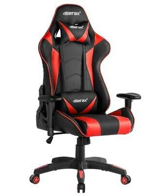 Merax High Back Pc Racing Game Chair Merax Gaming Chair Leather Chair Makeover Eames Rocking Chair