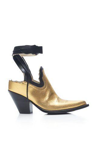 21567a41110 Metallic Decortique Cowboy Boots by Maison Margiela SS19 ...