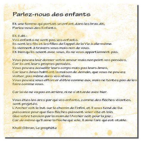 Parlons Enfants Le Premier Jour Poeme Et Citation