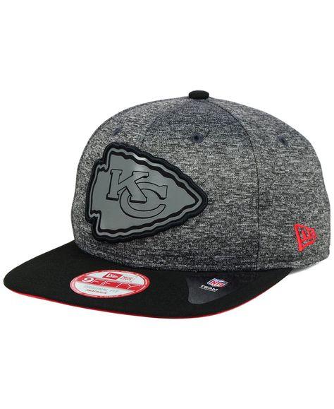 526f4144161 New Era Kansas City Chiefs Gridiron 9FIFTY Snapback Cap