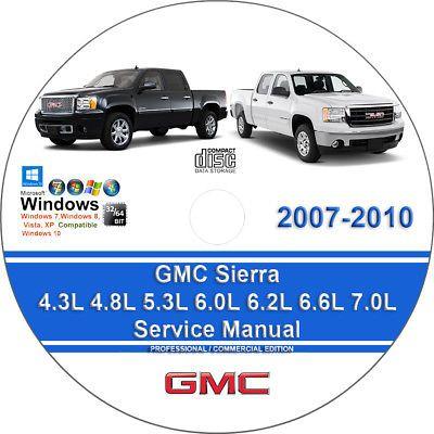 Advertisement Ebay Gmc Sierra 2007 2008 2009 2010 Factory Workshop Service Repair Manual Repair Manuals Dodge Charger Sxt Chilton Repair Manual