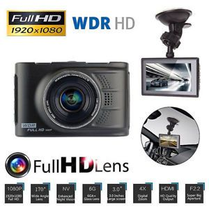 "Vehicle Car 3.0/"" 1080P Dashboard DVR Camera Video Recorder Dash Cam G-Sensor GPS"