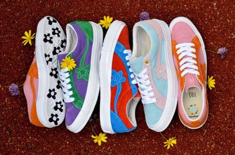 Golf Outfit S Women Tyler, the Creator x Converse One Star Golf Le Fleur Release Date Collection Looks Street Style, Looks Style, Sneakers Mode, Sneakers Fashion, Converse Sneakers, Fashion Outfits, Cute Shoes, Me Too Shoes, Basket Vintage