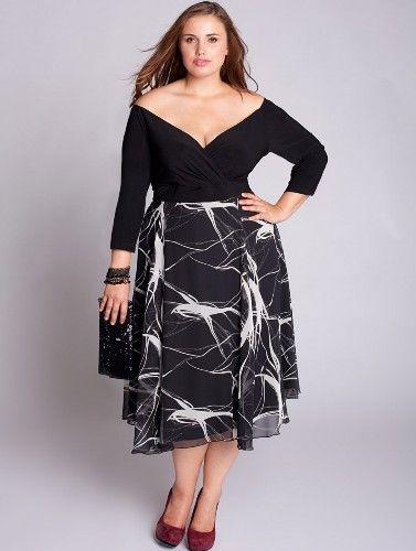 Elegant Plus Size Semi Formal Dresses | Plus size party ...