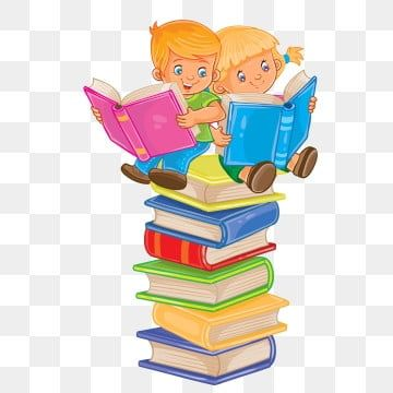 Reading Book Children Boy Girl Set Baby Icon Little Child Study Kids Kid Young Pile Stack Collection Educat Boy And Girl Drawing Boy And Girl Cartoon Baby Icon