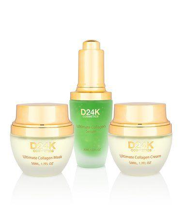 Love This 24k Collagen Renewal Set By D Or 24k Luxury Skincare On Zulily Zulilyfinds Collagen Cream Luxury Cosmetics Collagen