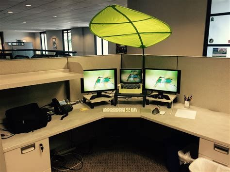 25 Leaf Canopy Ikea Office In 2020 Cubicle Shade Cubicle Design Overhead Lighting
