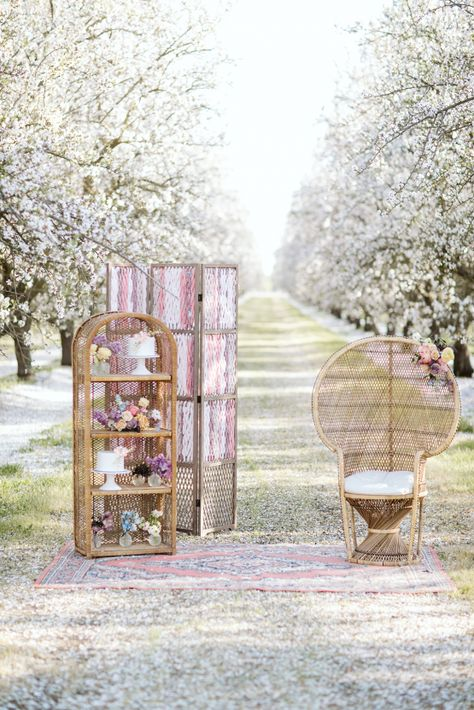 Whimsical Almond Orchard Blossom Wedding Inspiration – Playful Soul Photography 9  Blossoming orchards are the perfect backdrop for a nature-filled outdoor celebration.  #bridalmusings #bmloves #wedding #weddinginspo #weddinginspiration #blossom #orchard #outdoorwedding