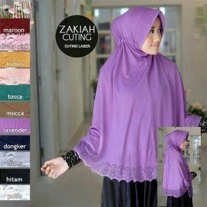 Kerudung Yang Cocok Untuk Baju Warna Ungu Lavender
