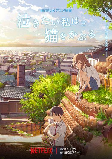 Sinopsis A Whisker Away Anime Klasik Tentang Asmara Di Sekolah Ilustrasi Seni Anime Gadis Animasi