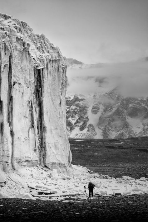 Exploring the Howard Glacier - photo from #treyratcliff Trey Ratcliff at http://www.StuckInCustoms.com