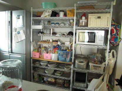 スチールラックの収納術 メタル キッチン アイデア イケア ニトリ ブログ スチールラック スチールラック キッチンアイデア スチールラック 収納