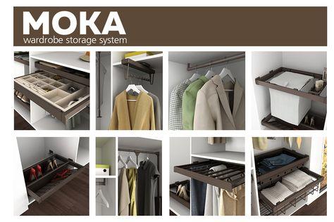 Accessori interni per armadi: Moka | Armadio, Moka e Accessori