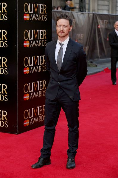 James Mcavoy Photos Photos Laurence Olivier Awards Red Carpet