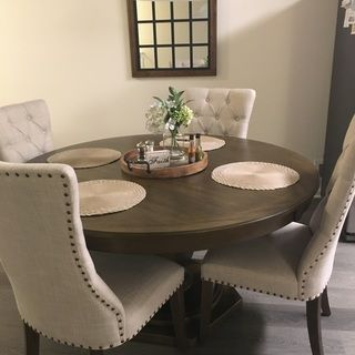 25++ Round beige dining table set Best Seller