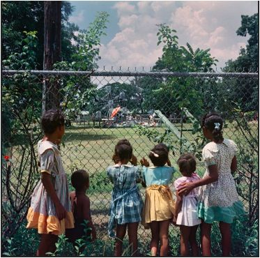 Outside looking in. Mobile, 1956 by Gordon Parks