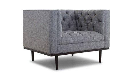 Terrific Mid Century Modern Chairs And Ottomans Joybird Uwap Interior Chair Design Uwaporg