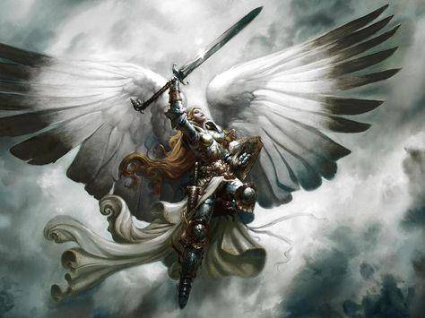 Christian Warrior Princess Anime Free Angel White Warrior