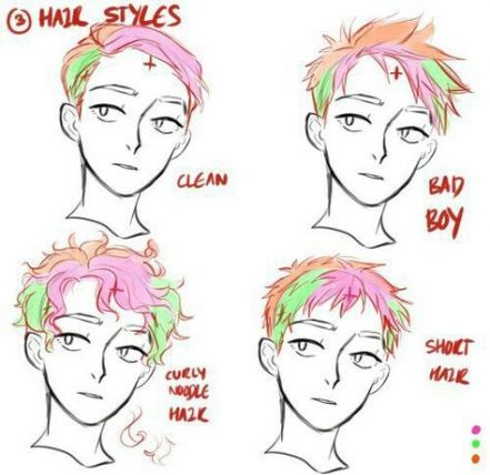 43 Trendy Drawing Reference Hair Men Curly Hair Drawing Drawing Male Hair Short Hair Drawing