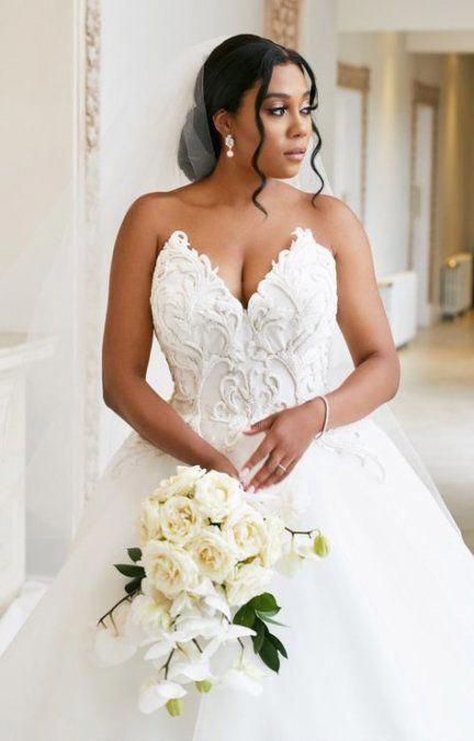 Braids Wedding Hairstyles Indian 56 Best Ideas Wedding Hairstyles Braid Black Wedding Hairstyles Bridal Hairstyles African American Black Brides Hairstyles,Mermaid Lace Corset Wedding Dress