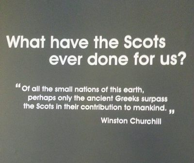 ..true.. Do the research.... the Scots have contributed very much to the world.