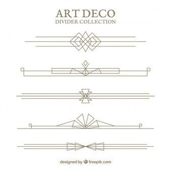 Art Deco Lines Png Art Deco Fashion Art Deco Design Graphics Art Deco Borders