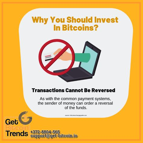 can bitcoin be reversed