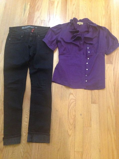 "guess junior black straight leg jeans size 24"" x 30.5"" & nana"