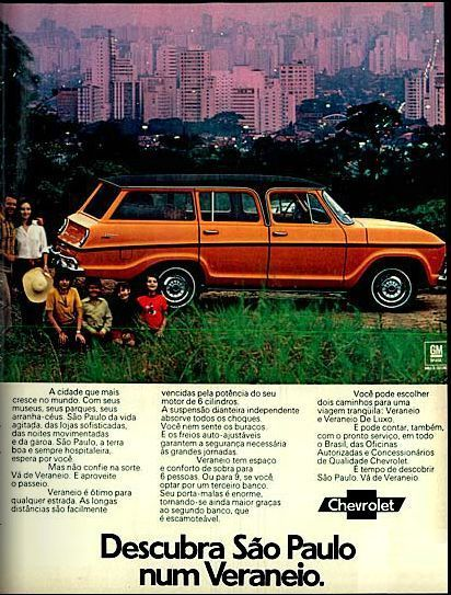 Chevrolet Veraneio Anos 70 Anos Ch In 2020 Chevrolet Old Ads Classic Cars