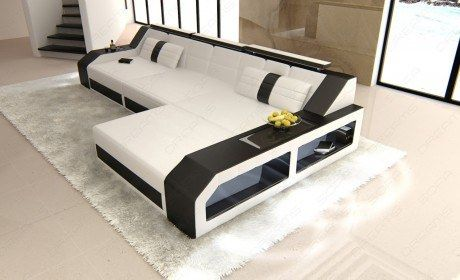 Sectional Leather Sofa Houston L Shape In 2020 Modern Sectional White Sectional Sofa L Shaped Sofa Designs
