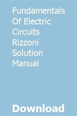 Doc) solution manual for principles and applications of electrical.