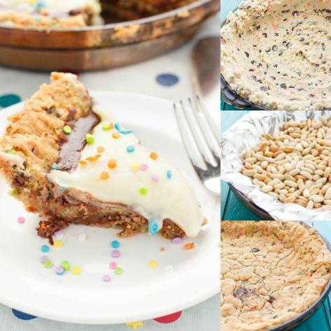 Super Birthday Cake Cookie And Pudding Pie Recipe Cookie Cake Funny Birthday Cards Online Necthendildamsfinfo