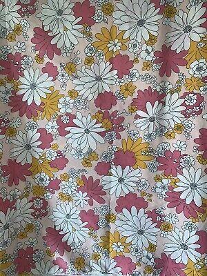 vintage cannon floral full flat sheet