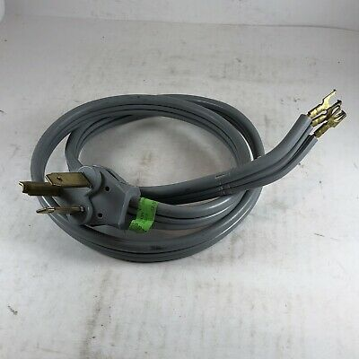 Details About Dryer Power Cord 4 Foot 3 Prong 10 3 Cu Gauge Copper In 2020 Power Cord 10 Things Prong