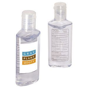 Hand Sanitizer In Oval Bottle 1 Oz Customize With Your Brand