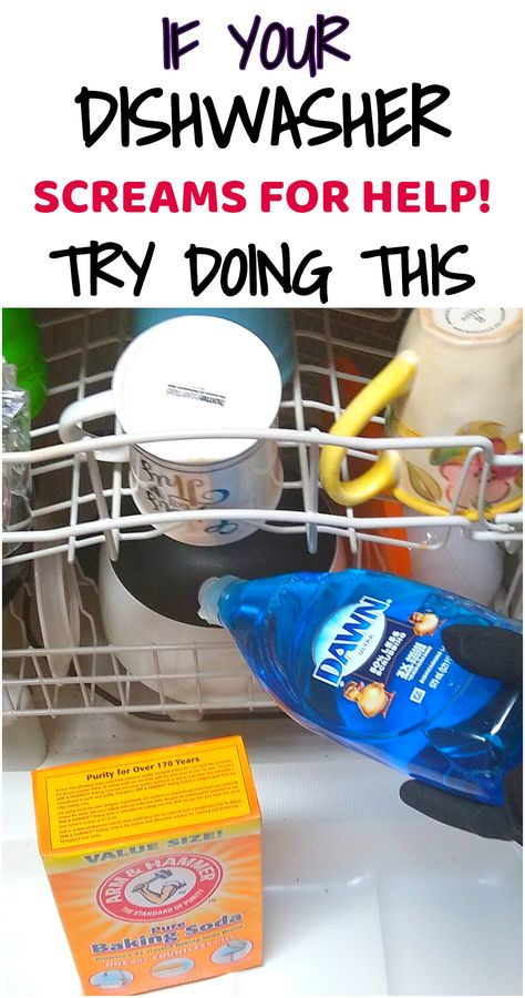 Stop ignoring your dishwasher and start cleaning it. Here you will learn a simple way to clean your dishwasher.#cleaninghacks#kitchenhacks#householdhacks