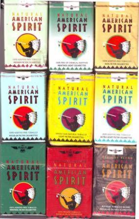 American Spirit Menthol Lights Regular Cigarettes American Spirit Free Coupons By Mail American Spirit Cigarettes