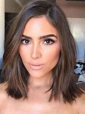 35 Easy Medium Length Hairstyles For Women 2020 Short Brunette