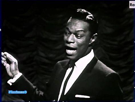 ♫ Nat King Cole ♪ Non Dimenticar 1960 (Very Rare Italian TV Show) ♫ Video & Audio Restored HD