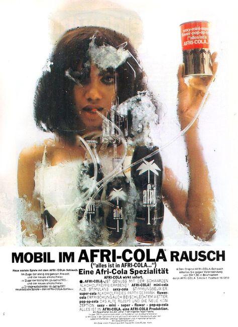 Charles Wilp 1970 For Afri Cola Afri Cola Werbung Poster