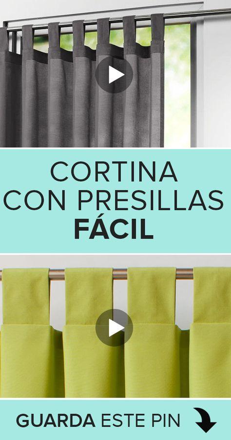 190 Ideas De Cortinas En 2021 Cortinas Hacer Cortinas Confeccion De Cortinas